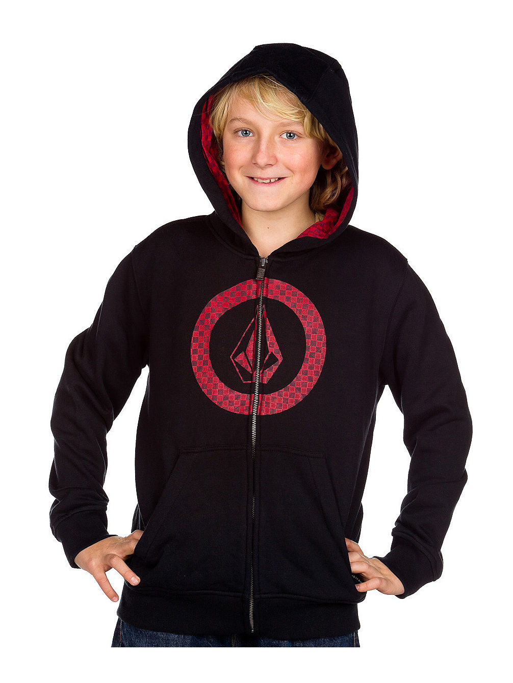 Circle Check Basic Zip Hood youth