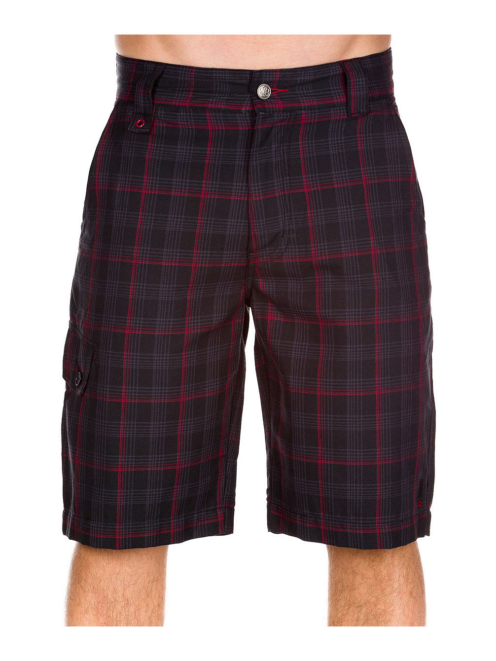 Summit Plaid Short