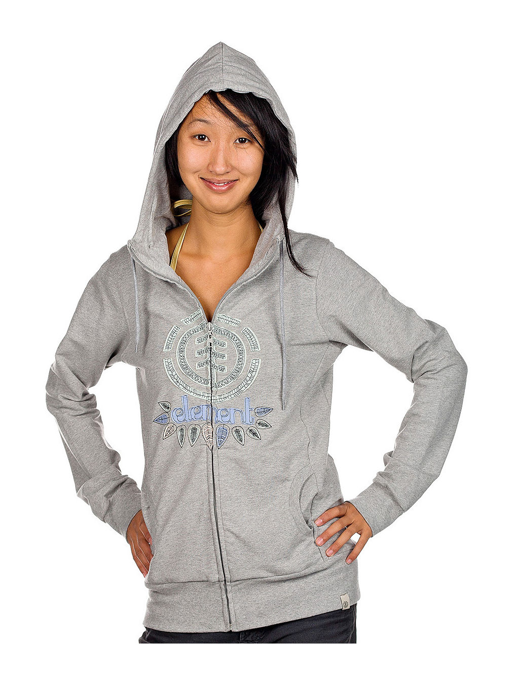 Catch Zip Hood Women