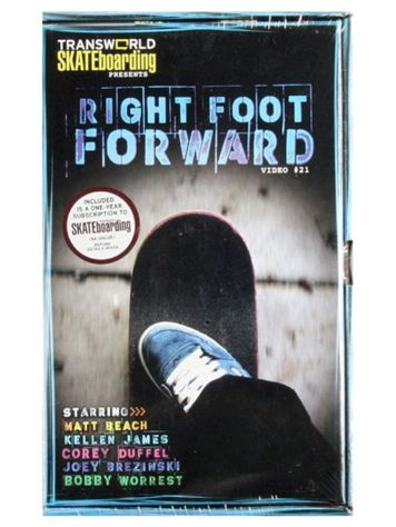 X-treme Right Foot Forward Skate DvD
