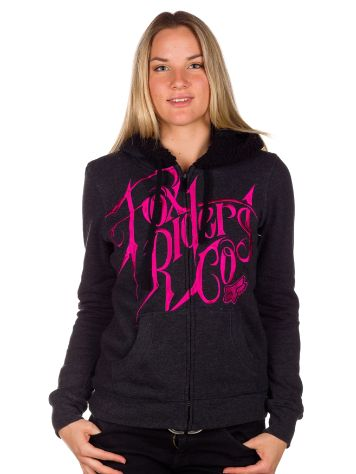 Fox Silencer Sherpa Zip Hood Women