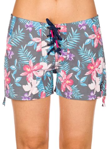 Roxy Multi Hawaian Retro Surf Mid Boardshorts