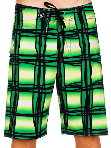 Volcom V4s Wavey Plaid Boardshorts