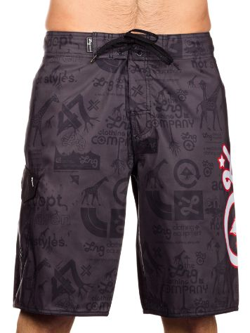 LRG CC Lrg Icon Boardshorts