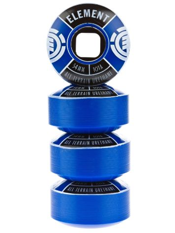 Element Divided Blue 54mm Wheels