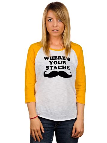 Vans Where's Your Stache Raglan T-Shirt