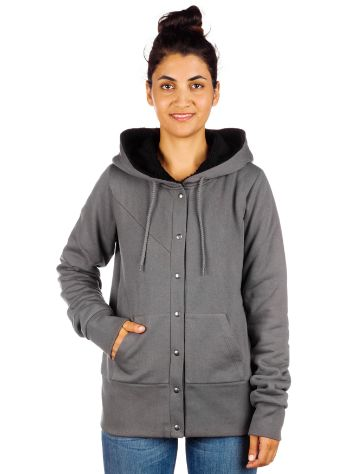 Volcom Rebel Lined Fleece Zip Hoodie