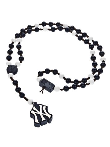 Wood Fellas Team Rosary NY Necklace