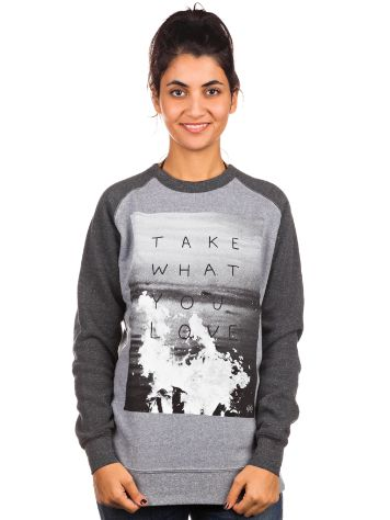 Glamour Kills Take What You Love Crew Sweater