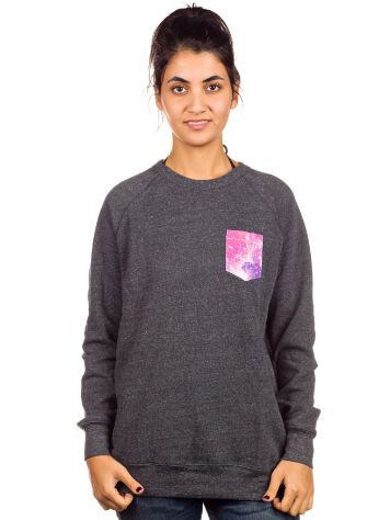 Glamour Kills Space Case Pocket Crew Sweater