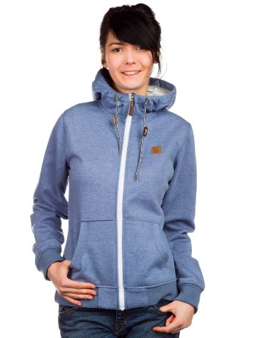 Light Boned Fleece Path Zip Hoodie