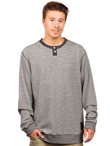 Electric Wolfe Fleece Henley T-Shirt LS