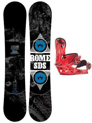 Rome Garage Rocker 154W + Shift red L 2014
