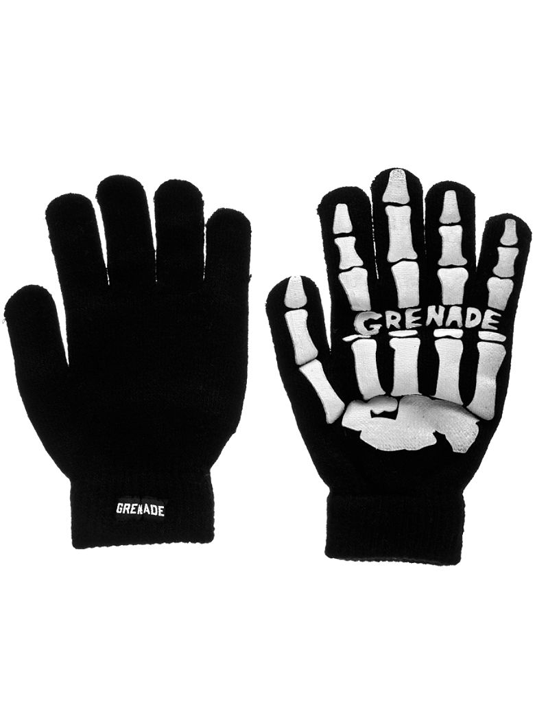 Handschuhe Grenade Skull Knit Glove vergr��ern
