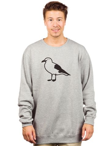 Cleptomanicx 1C Gull Sweater