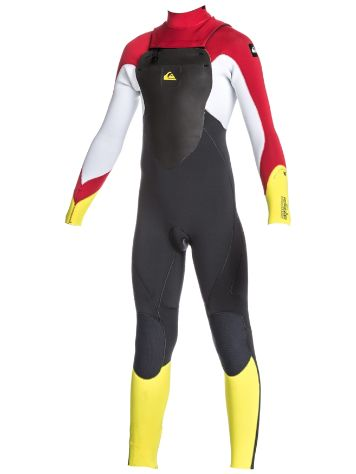 Quiksilver Syncro 3/2Mm Chest-Zip Fullsuit Boys