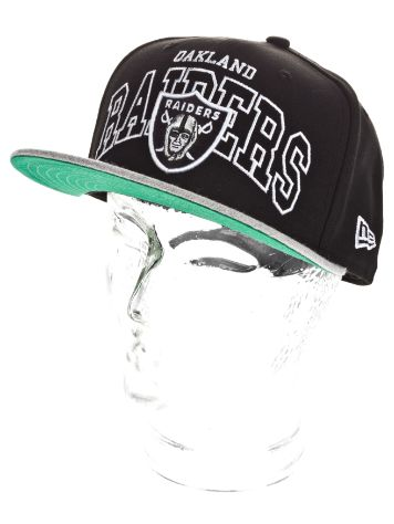 New Era Oakland Raiders Wordmark Central Cap