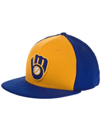 New Era Milwaukee Brewers MLB BP 5950 Cap