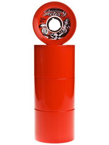 Race Formula 82A Red 72mm Wheels