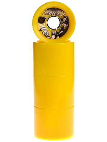 Race Formular OS 78A Yellow 69mm Wheels