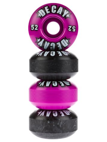 Decay Logo Purple Black Mash Up 52mm