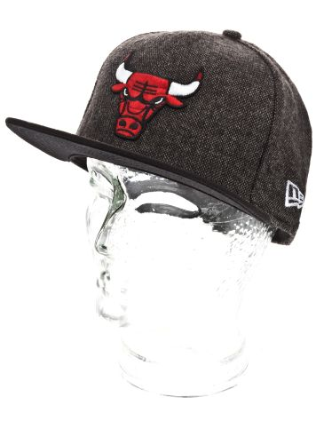 New Era Chicago Bulls Team Tweed Cap