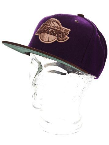 Mitchell & Ness NBA LA Lakers Winter Suede Cap