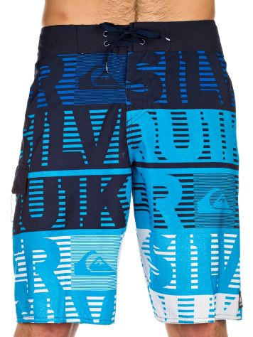 Quiksilver Comp Word Stripe 21 Boardshorts