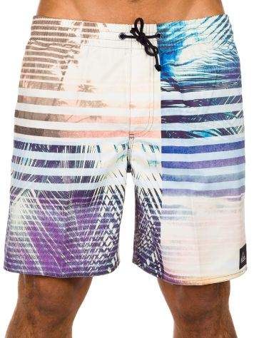 Quiksilver Palm Stripe Volley 17 Boardshorts