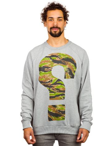 SWEET SKTBS Yestion Tiger Camo Sweater