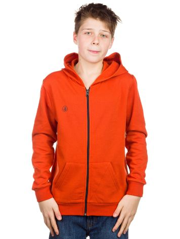 Volcom Icon Fleece Zip Hoodie Boys