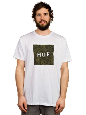 HUF Box Logo Fill Shell Shock T-Shirt