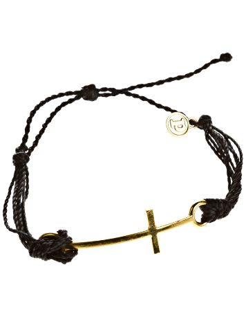 Pura Vida Black Cross Bracelet