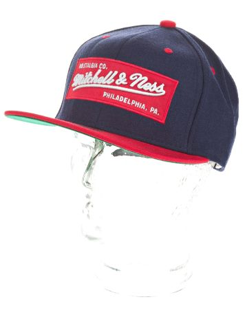 Mitchell & Ness 2 Tone Label Logo Cap