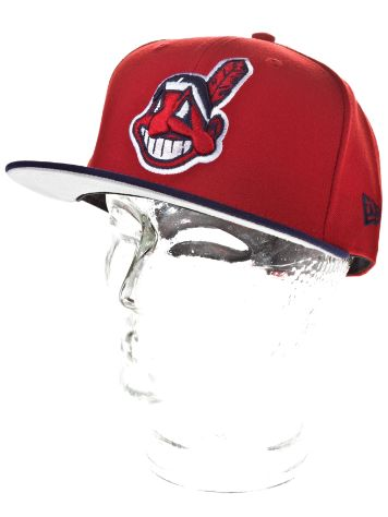 New Era Cleveland Indians MLB Reverse Team Cap