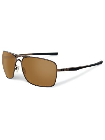 Oakley Plaintiff Squared dark brown chrome