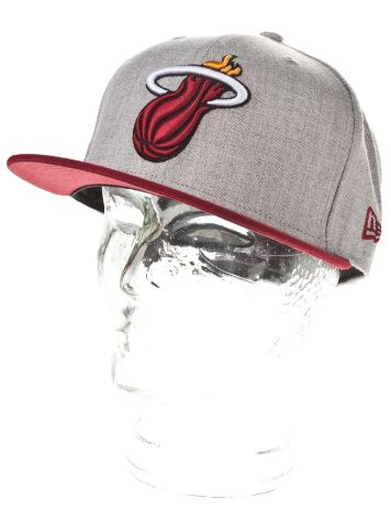 New Era Miami Heat Heather Pop Cap