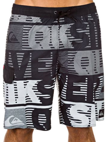 Quiksilver Comp Word Stripe 19 Boardshorts