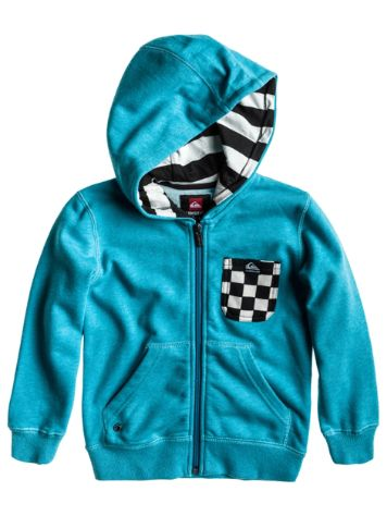 Quiksilver Solana Terry Checks Zip Hoodie Boys
