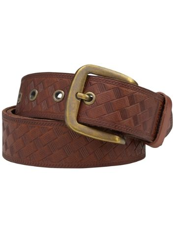 Burton Embossed Leather Belt
