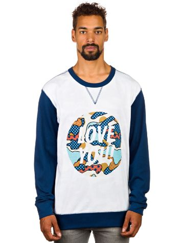 DC Circle 'Love You' Crew Sweater