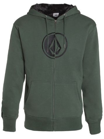 Volcom Circle Stone Lined Fleece Zip Hoodie