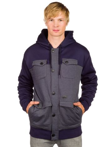 Volcom Cutback Lined Zip Fleece Jacket