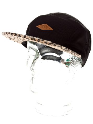 Empyre Girls Cheetah Print 5 Panel Cap