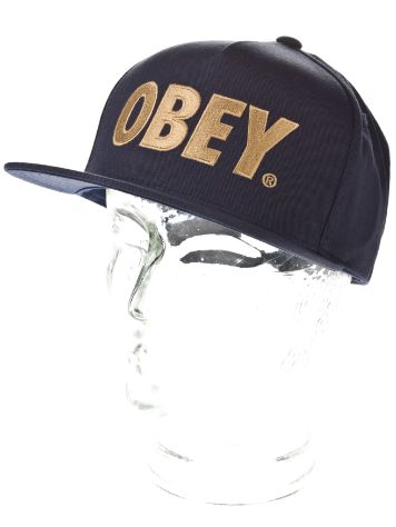 Obey The City Snapback Cap