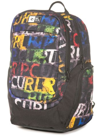 Rip Curl Rock It Lettering Backpack