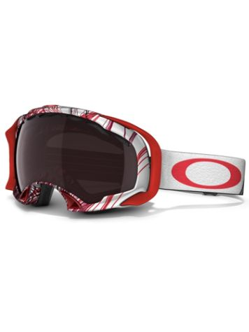 Oakley Splice Topgraphy Red Black