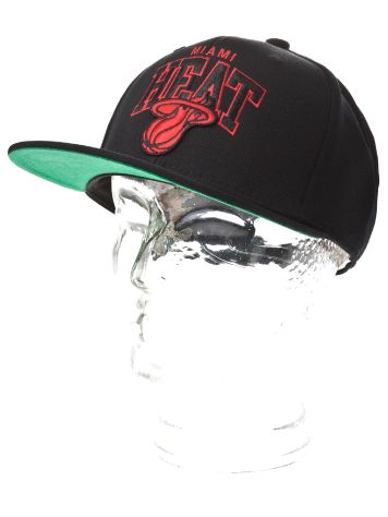 Mitchell & Ness Onpoint Arch Snapback Miami Heat Cap