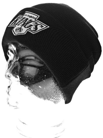 Mitchell & Ness Team Talk Cuff Knit La Kings Beanie