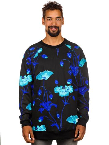 akomplice Bright Poppy Crewneck Sweater